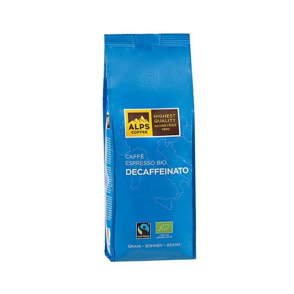 Schreyögg Kaffee - Schreyögg Kaffee Caffè Decaffeinato entkoffiniert ganze Bohnen Fair Trade BIO