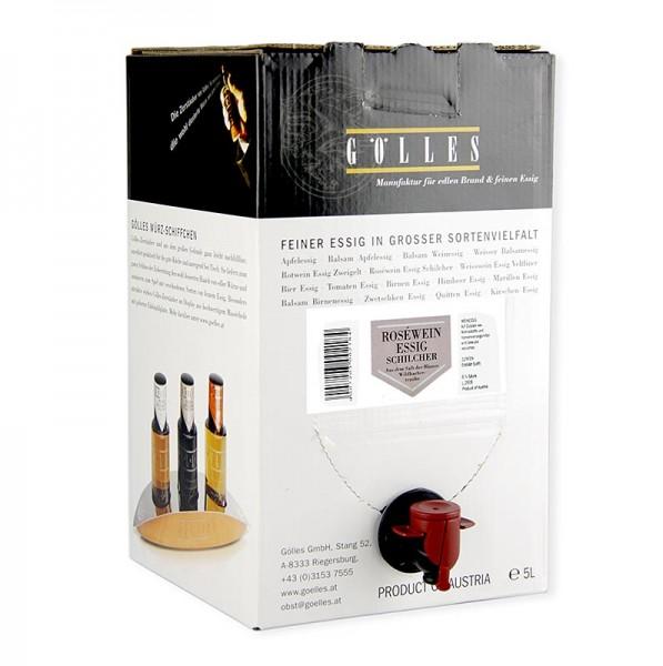 Gölles - Gölles Schilcher Roséwein-Essig 6% Säure