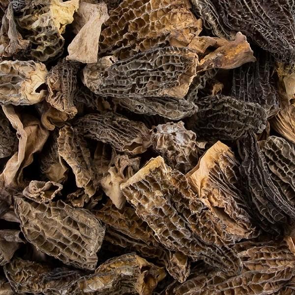 Deli-Vinos Legumes - Spitzmorchel-Bruch - Standard 80% Köpfe 20% Stiele