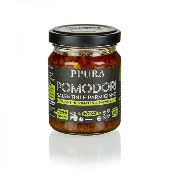 Ppura - Ppura Pesto von Salentini Tomaten Glas BIO