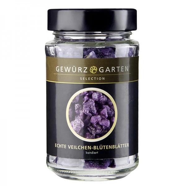 Gewürzgarten Selection - Gewürzgarten Echte Veilchenblütenblätter kristallisiert violett ø ca.1.5-3cm