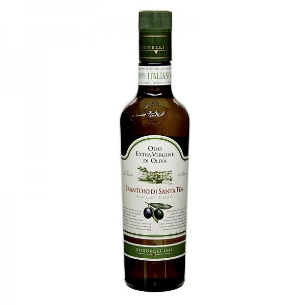 Santa Tea - Fruttato Intenso Olivenöl Extra Vergine grüne Oliven Santa Tea Gonnelli
