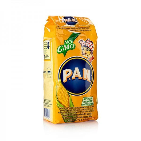 Pan - Maismehl gelb fein vorgekocht 1 kg