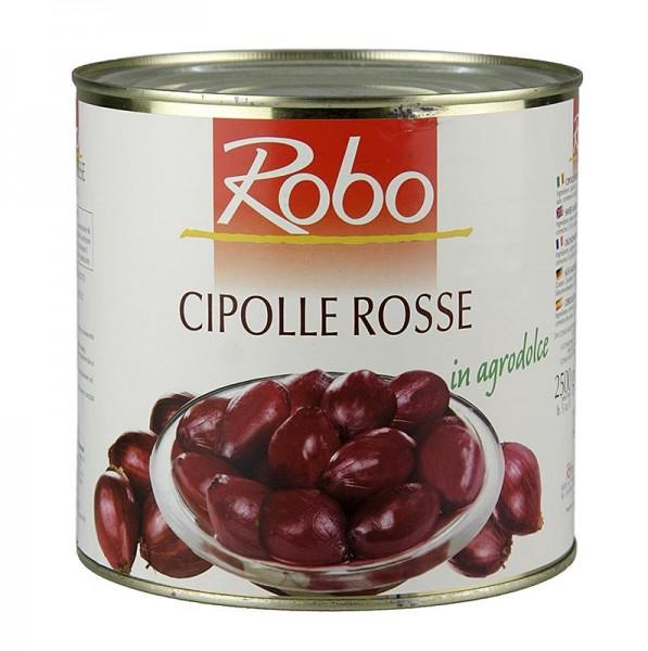 Robo - Tropea-Zwiebeln süß-sauer in Rotweinessig eingelegt