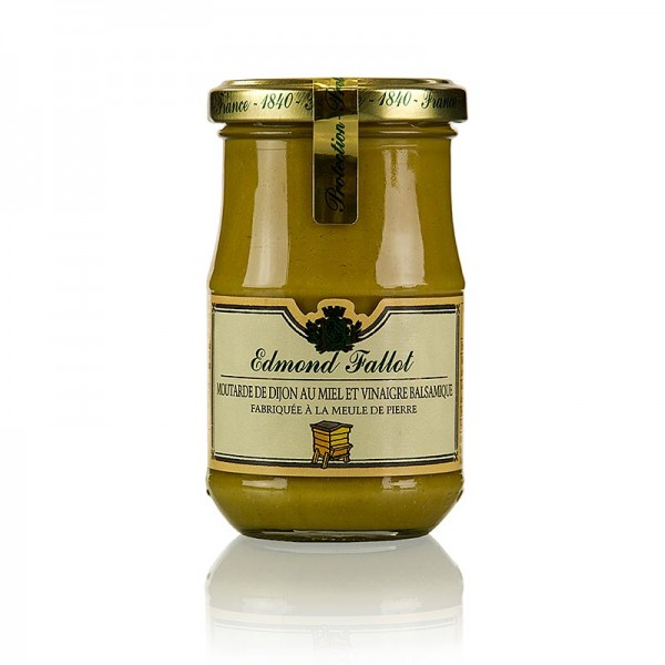 Fallot - Dijon Senf mit Balsamessig und Honig fein Fallot