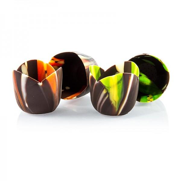 Deli-Vinos Patisserie - Schokoform - Fleur - Michelle Pastell dunkel/pastell ø 37mm 33mm hoch