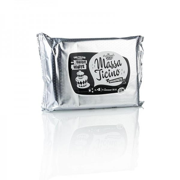 Callebaut - Massa Ticino - Tortengarniermasse Bride White Vegan AZO-Frei