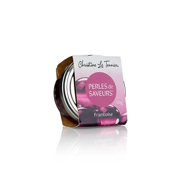 Les Perles - Fruchtkaviar Himbeere Perlgrösse 5mm Sphären Les Perles