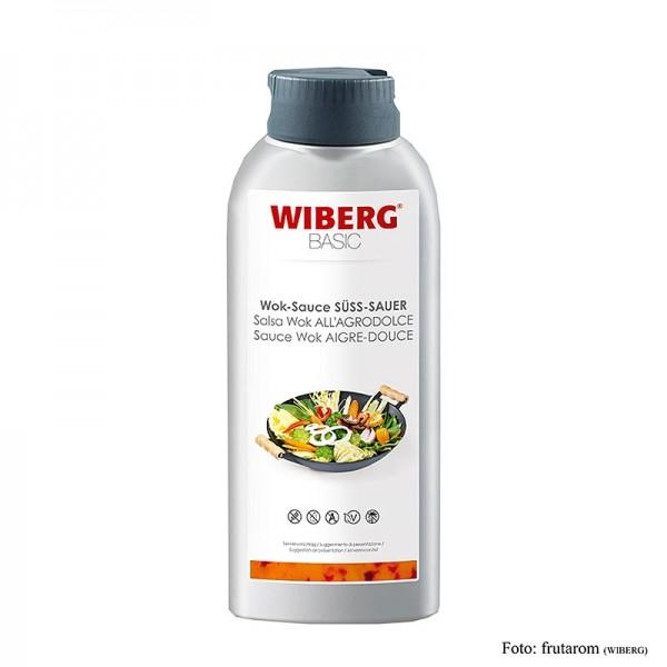 Wiberg - WIBERG BASIC Wok Sauce Süß Sauer Squeezeflasche