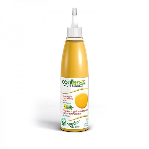 Daregal - Coulis Gelbfrisch aus gelber Paprika + Zitronen Thymian DAREGAL TK