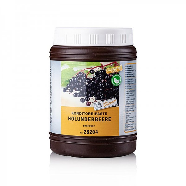 Dreidoppel - Holunderbeeren-Paste von Dreidoppel No.282