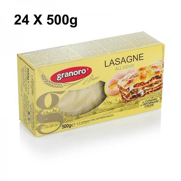 Granoro - Granoro Lasagne mit Ei 82 x 60 x 1mm No.120