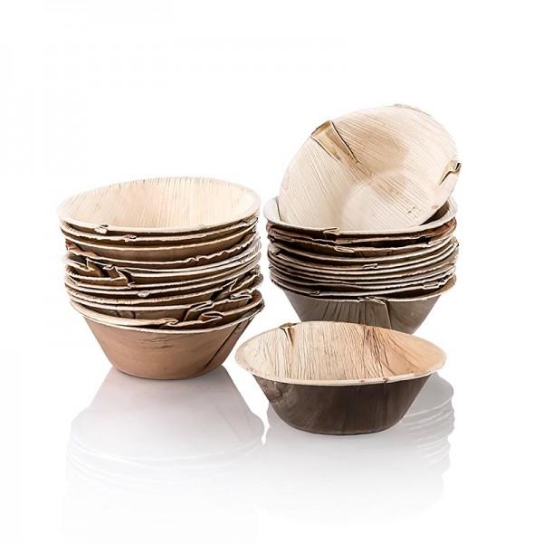 Deli-Vinos Kitchen Accessories - Einweg Palmblattteller rund ca. ø 15.5cm tief 100% kompostierbar