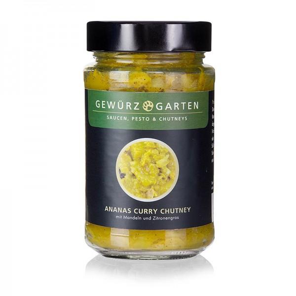 Gewürzgarten Selection - Gewürzgarten Ananas Curry Chutney mit Mandeln Holunderblüte und Zitronengras