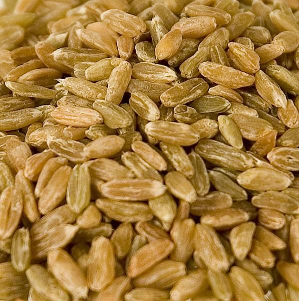 Deli-Vinos Mehl + Getreide - Grünkern ganz holzgedarrt