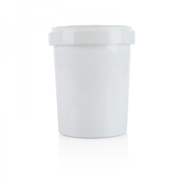 Deli-Vinos Kitchen Accessories - Kunststoffdose/-becher ohne Deckel weiß ø 11cm 13.5cm hoch 1 Liter