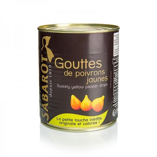 Sabarot - Paprikatropfen gelb Sweety Drops Gouttes de Poivron