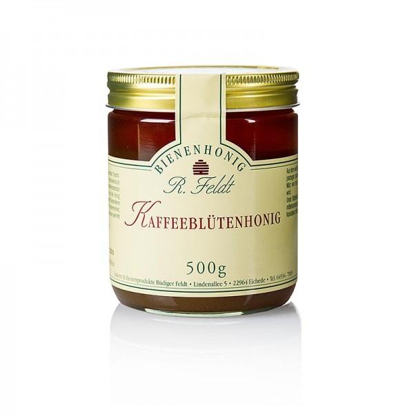 R. Feldt Bienenhonig - Kaffeeblüten-Honig dunkel cremig mild-feinaromatisch
