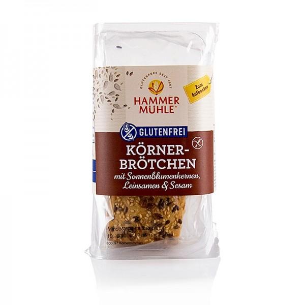 Hammermühle - Körnerbrötchen gluten- & laktosefrei Hammermühle