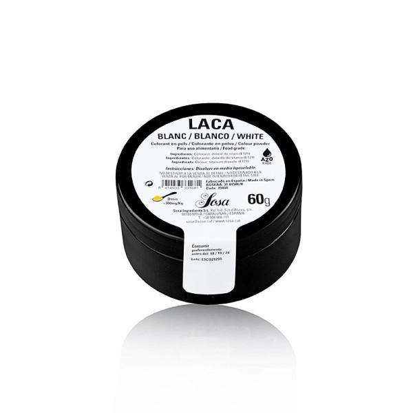 Sosa - Lebensmittelfarbe Puder Weiß Titandioxid fettlöslich E171