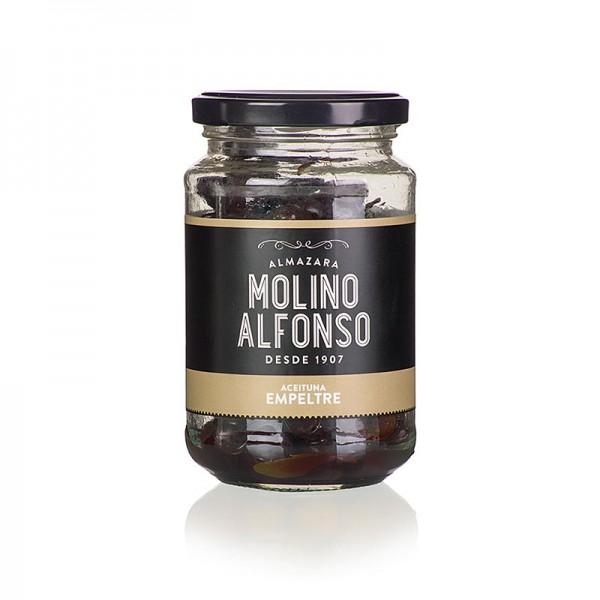 Molino Alfonso - Schwarze Oliven mit Kern Empeltre naturbelassen Molino Alfonso