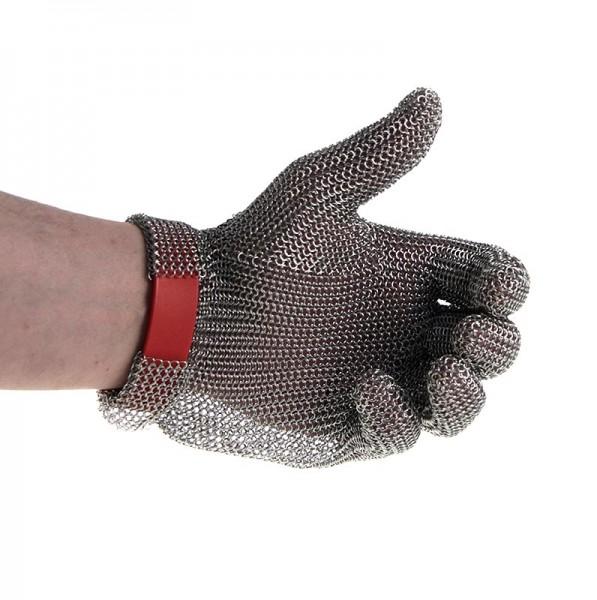 Euroflex - Austernhandschuh Euroflex - Kettenhandschuh Größe M (2) rot