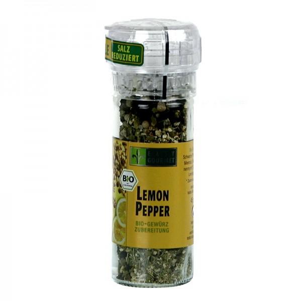 Easy Gourmet - Gourmet-Gewürzmühle Lemon & Pepper Gewürzzubereitung BIO