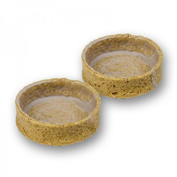 Deli-Vinos Patisserie - Dessert-Tartelettes aus Graham Crackern gecoated Ø55x17mm h