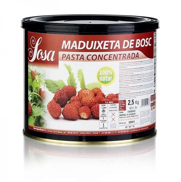 Sosa - Paste - Walderdbeere