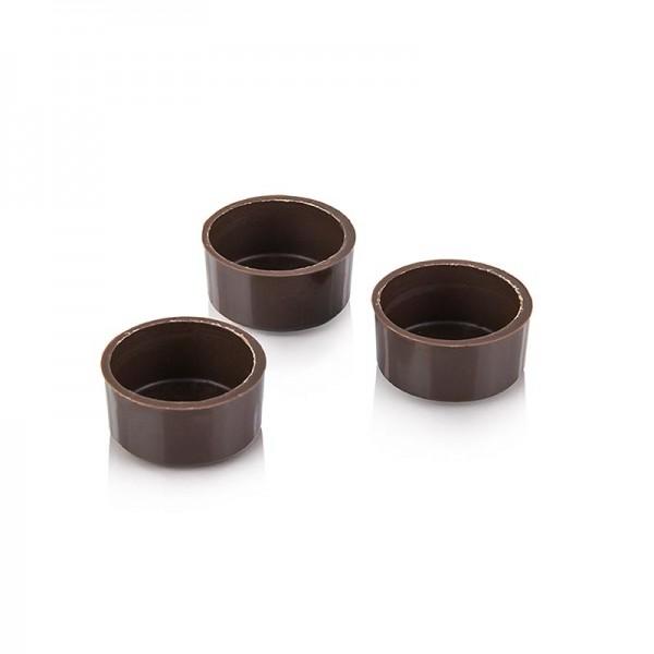 Läderach - Pralinen-Schalen rund dunkel Ø29x14mm h (1000 0282) Läderach
