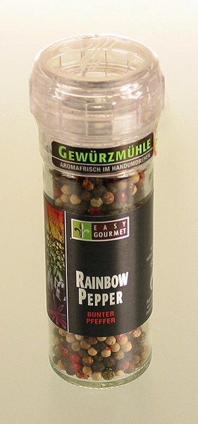 Easy Gourmet - Gourmet-Gewürzmühle Rainbow Pepper Easy Gourmet