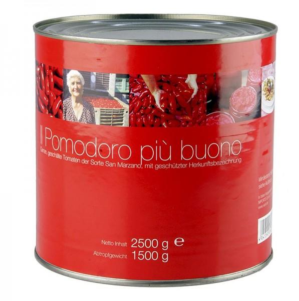 Il Pomodoro Piu - San Marzano Tomaten ganz rot geschält Kampanien Italien