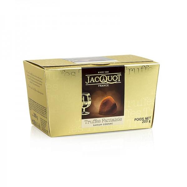 Cemoi Truffes - Trüffelkonfekt - Pralinen mit Cognac Jacquot Frankreich