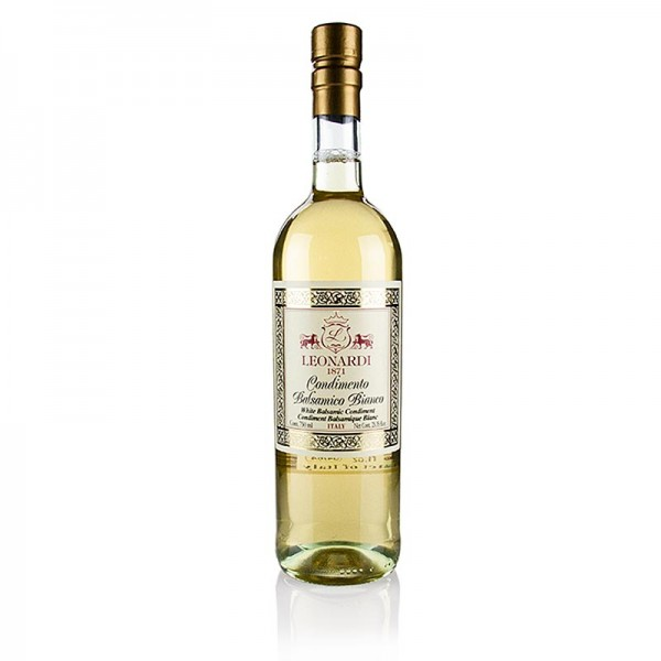 Leonardi - Balsamico Bianco Oro Nobile 4 Jahre Eichenholzfass Leonardi