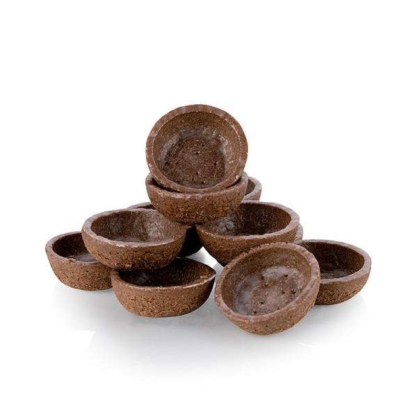 Hug - Dessert-Tartelettes-Mini rund ø 3.8cm H 1.8cm Schokomürbeteig