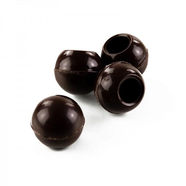 Läderach - Trüffel-Hohlkugeln Zartbitterschokolade ø 26mm Läderach