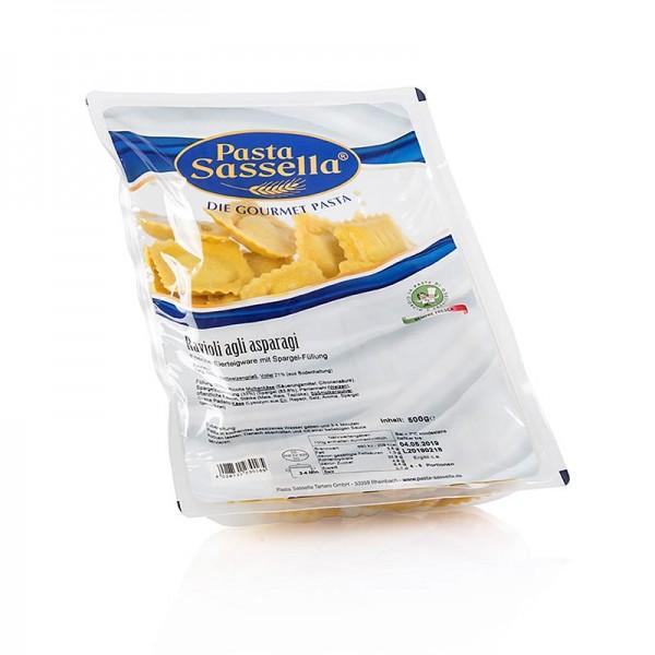 Sassella - Frische Ravioli mit Spargel Füllung Sassella 500g (SA)
