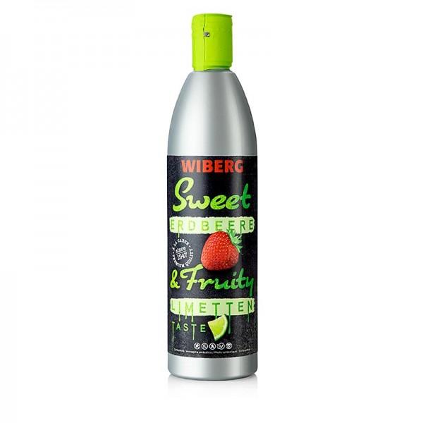 Wiberg - Wiberg Sauce Sweet and Fruity - Erdbeere & Limettentaste