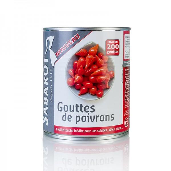 Sabarot - Paprikatropfen Sweety Drops Gouttes de Poivron