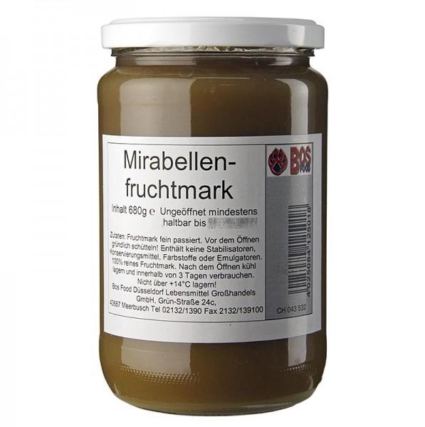 Bos Food - Mirabellen-Püree/Mark fein passiert
