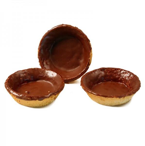 Hug - Dessert-Tartelettes rund ø 7cm H 2cm Mürbeteig/Schokoglasur