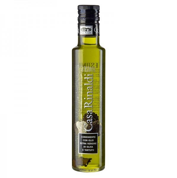 Casa Rinaldi - Natives Olivenöl Extra Casa Rinaldi mit weißem Trüffel-Aroma & Sommertrüffel