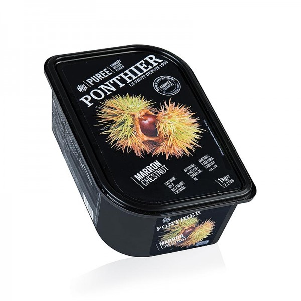Ponthier Pürees - Maronen Püree mit Zucker Ponthier TK