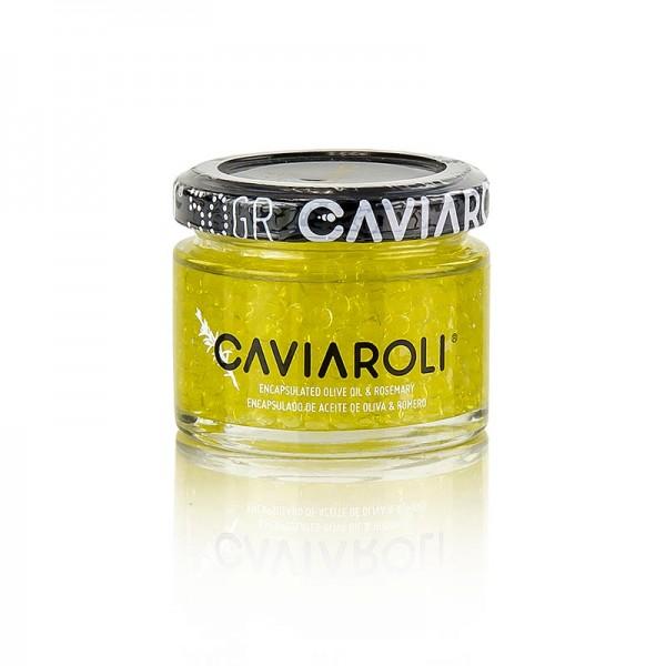 Caviaroli - Caviaroli® Olivenölkaviar kleine Perlen aus Olivenöl mit Rosmarin grün
