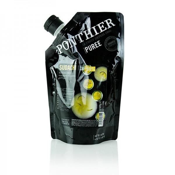 Ponthier - Püree - Sudachi 100% Frucht ungezuckert