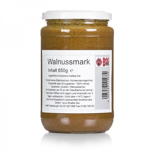 Bos Food - BOS FOOD Walnuss-Mark 100% Mark ohne Zusatzstoffe
