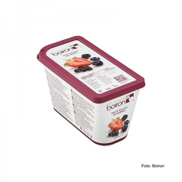 Les Vergers Boiron - Püree-Waldfrüchte und rote Beeren TK