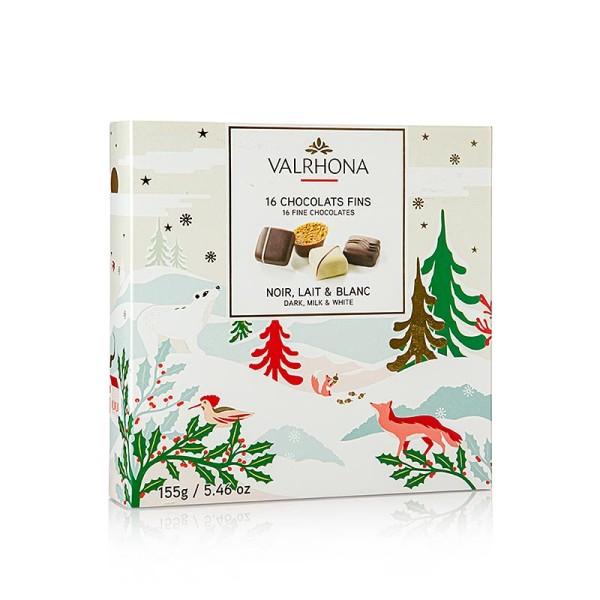 Valrhona - Valrhona Pralinen 4 Sorten (Chocolats Fin) (SA)