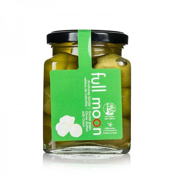 San Carlos Gourmet - Grüne Gordal Oliven ohne Kern mit Zwiebeln San Carlos Gourmet