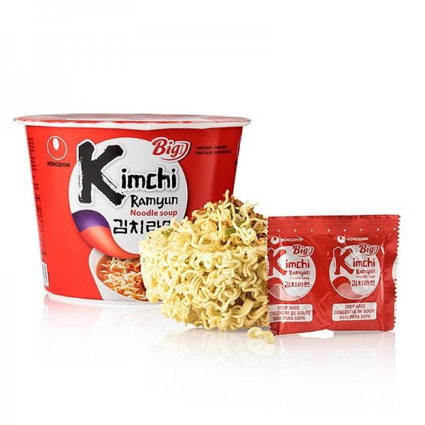 Nongshim - Instant Cup Nudeln Ramyun Kimchi Big Bowl scharf Nong Shim